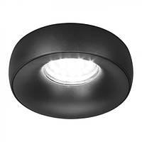 Встраиваемый светильник Feron DL1842 черный матовый