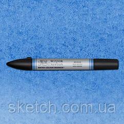 Маркер акварельный Winsor Watercolor Markers  № 401 Mid Blue