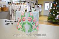 Заготовка для вышивки обложки на паспорт ЗНП-43