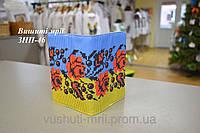 Заготовка для вышивки обложки на паспорт ЗНП-46