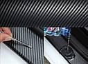 Лента защитная декоративная ZiRy carbon-3D 3см 3м, фото 5