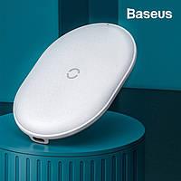 Беспроводное зарядное устройство Baseus Cobble QI 15W (белый)