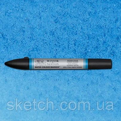 Маркер акварельный Winsor Watercolor Markers   № 515 Phthalo Blye Green Shade
