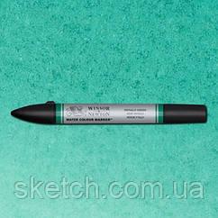 Маркер акварельный Winsor Watercolor Markers  № 522 Phthalo Green