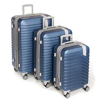 Дорожная Чемодан 31 ABS-пластик 8341 blue синий