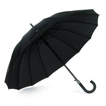Мужской зонт черный мужские зонтики трость полиэстер 740