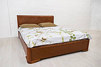 Деревянная Кровать Полуторная Ассоль бук 1,6м с подъемным механизмом, фото 1
