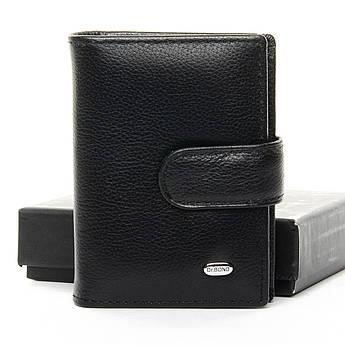 Мужские кошельки из натуральной кожи Classic кожа DR. BOND M21 black черный