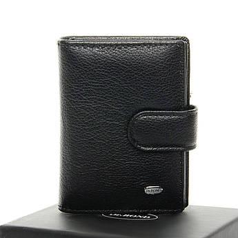 Мужские кошельки из натуральной кожи Classic кожа DR. BOND M50 black черный