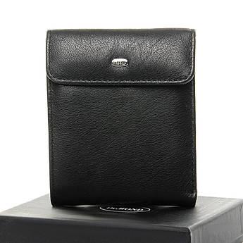 Мужские кошельки из натуральной кожи Classic кожа DR. BOND M55 black черный
