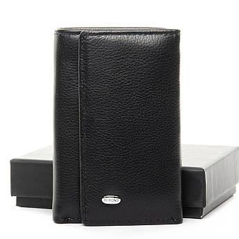 Мужские кошельки из натуральной кожи Classic кожа DR. BOND M6 black черный