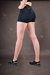 Шорты женские для отдыха и спорта черный цвет размеры от 42 до 50