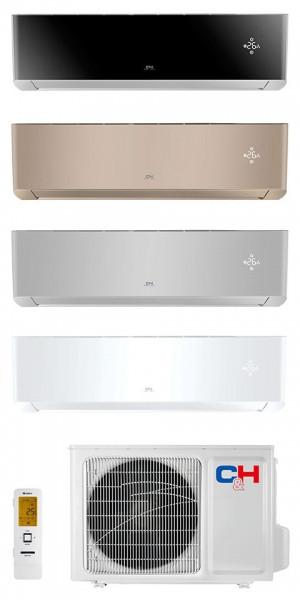 Кондиционер тепловой насос Cooper&Hunter CH-S12FTXAM2S-(WP, BL, GD, SC) Wi-Fi