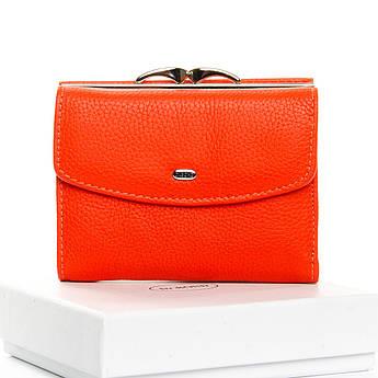 Кошелек женский натуральная кожа Classic кожа DR. BOND WS-11 orange