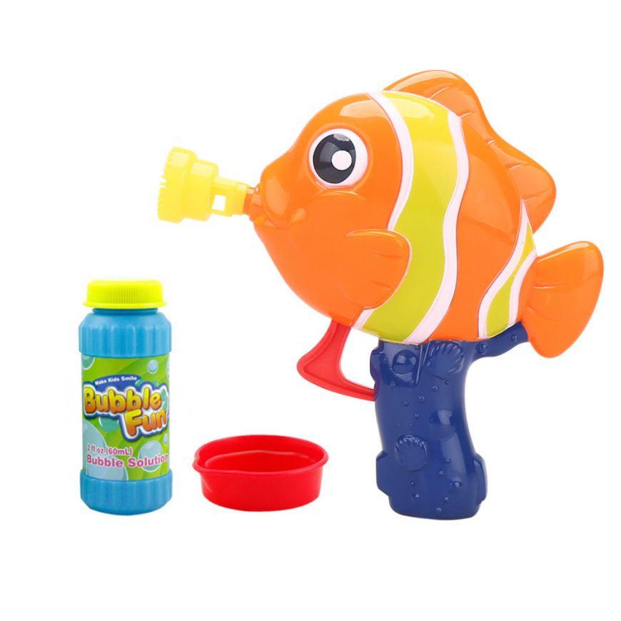 """Мыльные пузыри """"Рыбка"""" DHOBB10125  60 мл (Оранжевый)"""