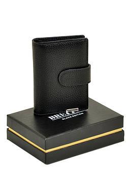 Мужские кошельки из натуральной кожи CLASSIC. кожа BRETTON M4203 black черный