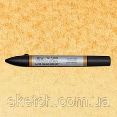 Маркер акварельный Winsor Watercolor Markers  № 744 Yellow Ochre
