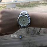Модные женские часы Michael Kors качественные реплика золотистые серебристые, фото 5