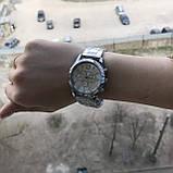 Модные женские часы Michael Kors качественные реплика золотистые серебристые, фото 7