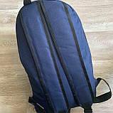 Мужской спортивный рюкзак Fila Фила городской для тренировок для мужчин синий, фото 5