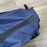 Мужской спортивный рюкзак Fila Фила городской для тренировок для мужчин синий, фото 6
