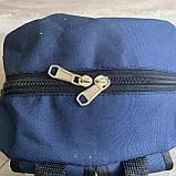 Мужской спортивный рюкзак Fila Фила городской для тренировок для мужчин синий, фото 7