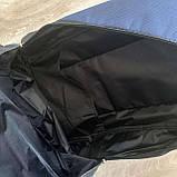Мужской спортивный рюкзак Fila Фила городской для тренировок для мужчин синий, фото 9
