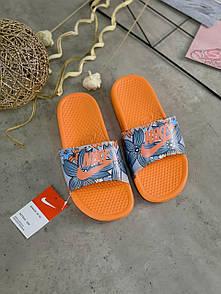 Жіночі тапочки Nike Benassi Orange