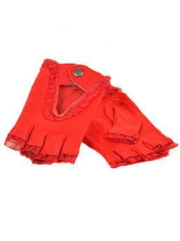 Перчатки женские кашемир FO-2 red красный