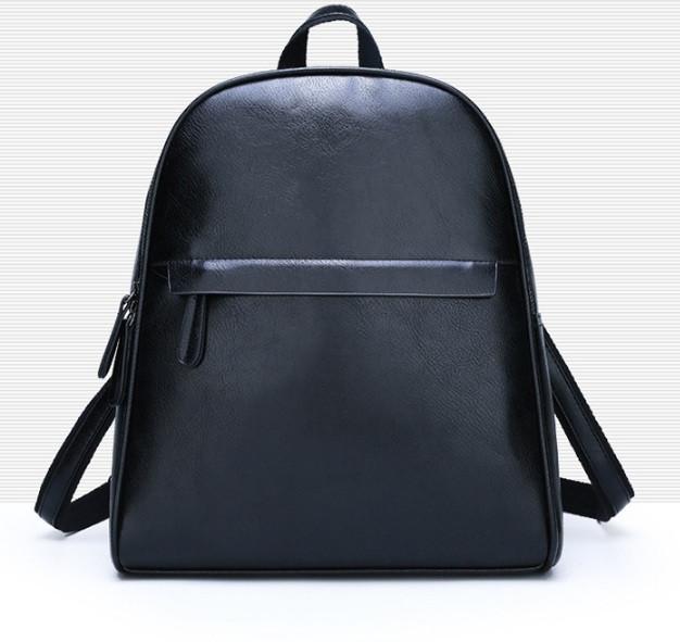 Рюкзак міський жіночий, Модні жіночі рюкзаки, Рюкзак для дівчини чорний коричневий