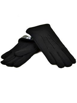 Перчатка Мужская стрейч M1/17 мод2 black черный махра
