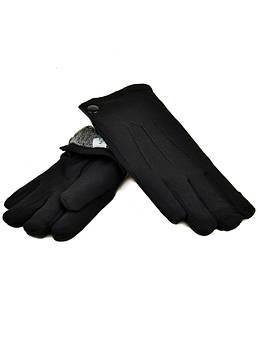 Перчатка Мужская стрейч M1/17 мод3 black черный махра