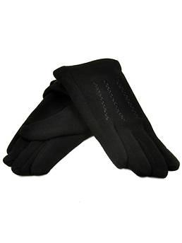 Перчатка Подростковая стрейч D2 ПЛ мод-3 black черный (мальчик)