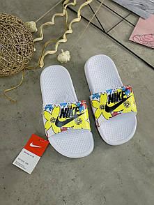 Жіночі тапочки Nike Benassi White