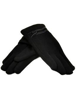 Перчатка Подростковая стрейч D2 ПЛ мод-5 black черный (мальчик)