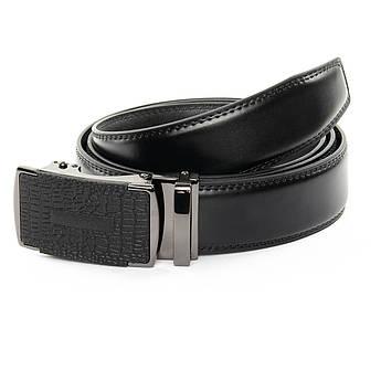 Ремень Мужской кожа 25-DM-6441-2 black черный