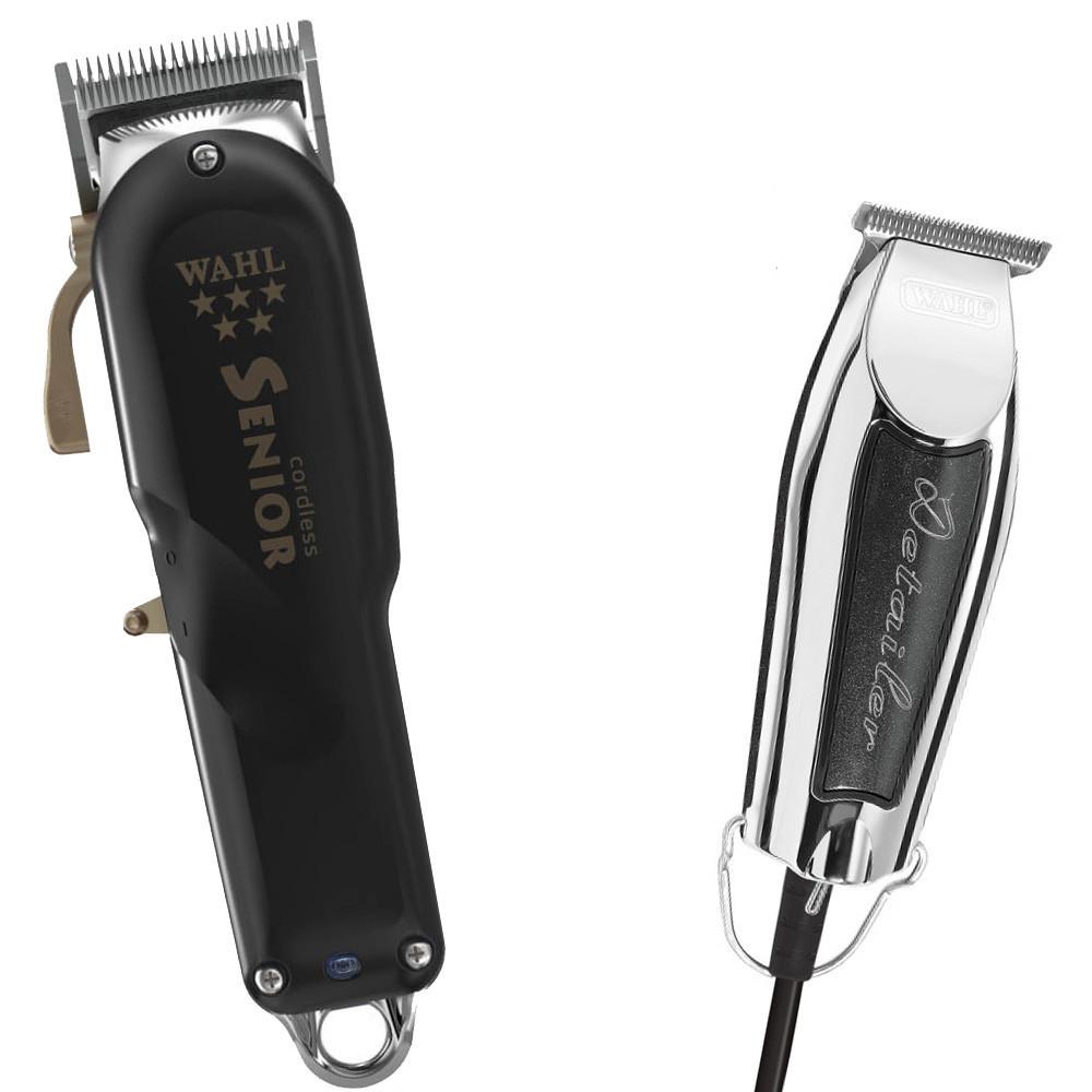 Комбо-набор Wahl Barber #7 (Senior Cordless + Detailer Black)
