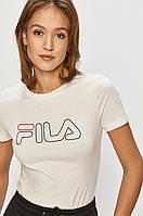 Жіноча футболка Fila, біла філа, фото 1