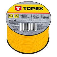 Шнур разметочный TOPEX 100 м 13A910