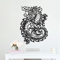 Объемная картина из дерева DecArt Fire Dragon
