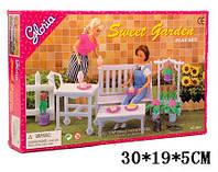 """Мебель """"Gloria"""" для сада Sweet Garden, скамейка, цветы, в коробке 9876"""