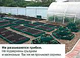 Грядка оцинкованная Mavens, коричневая, 120 х 120 х 19 см, (бордюр, ограждение), фото 8
