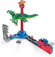 Трек Хот вилс Воздушная атака дракона Hot Wheels Air Attack Dragon Mattel GJL13