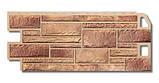 Фасадна панель під камінь Білий Камінь Альта Профіль (пластиковий цокольний сайдинг), фото 3