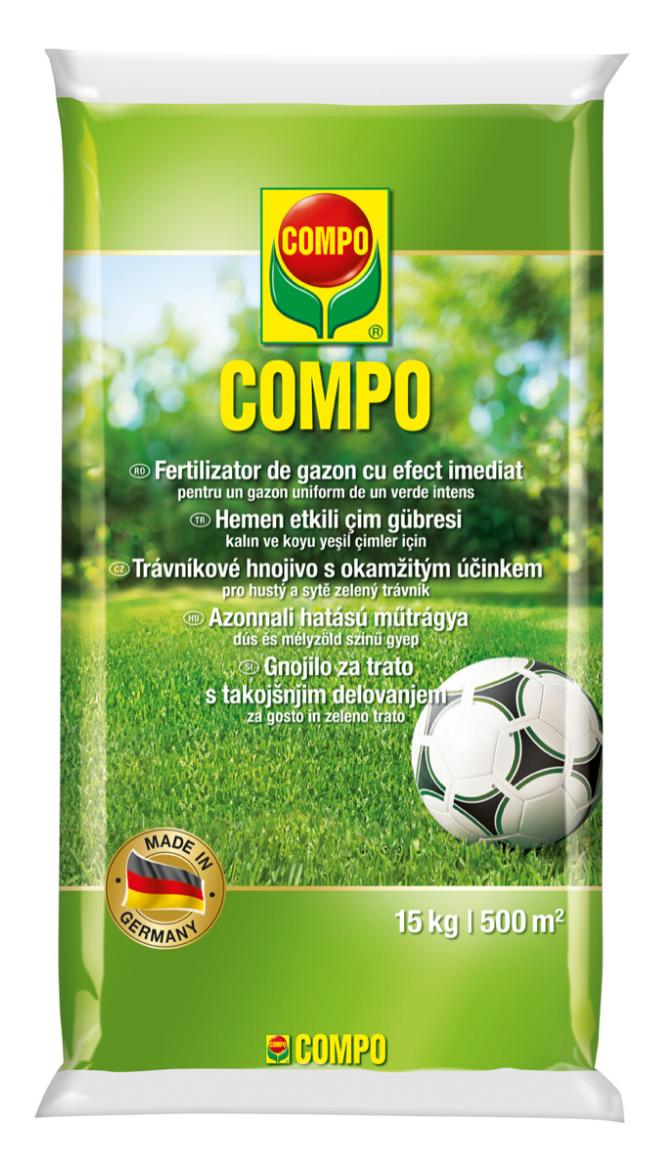 Добриво для газонів швидкої дії 15 кг, Compo