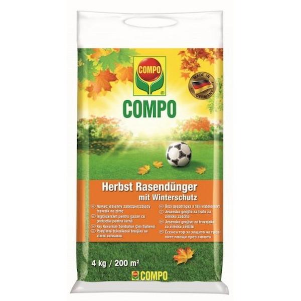 Добриво тривалої дії для газонів (осінь) 4 кг, Compo