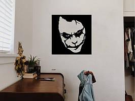 Объемная картина из дерева DecArt Joker Black Square