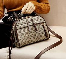 Стильная маленькая женская сумочка модная и качественная сумка для девушек через плечо