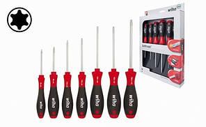 Набір викруток для гвинтів TORX® SoftFinish 7 шт. 01299 WIHA