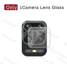 Защитная плёнка на камеру Xiaomi redmi note 10 4G полная проклейка